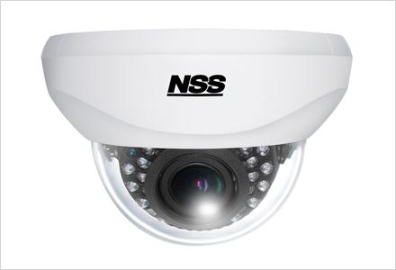 フルHD AHD暗視電動バリフォーカルドーム型カメラ