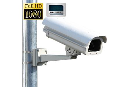 SSD 記録型 街頭防犯カメラ